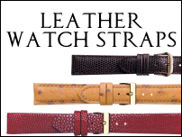 Watch straps:Leather watch straps