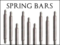 Watch straps:Spring bars for watch straps